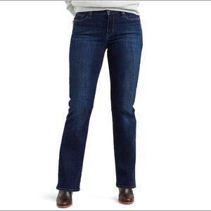 Levi's Curvy Bootcut Mid Rise Jeans 16 Long 33x32
